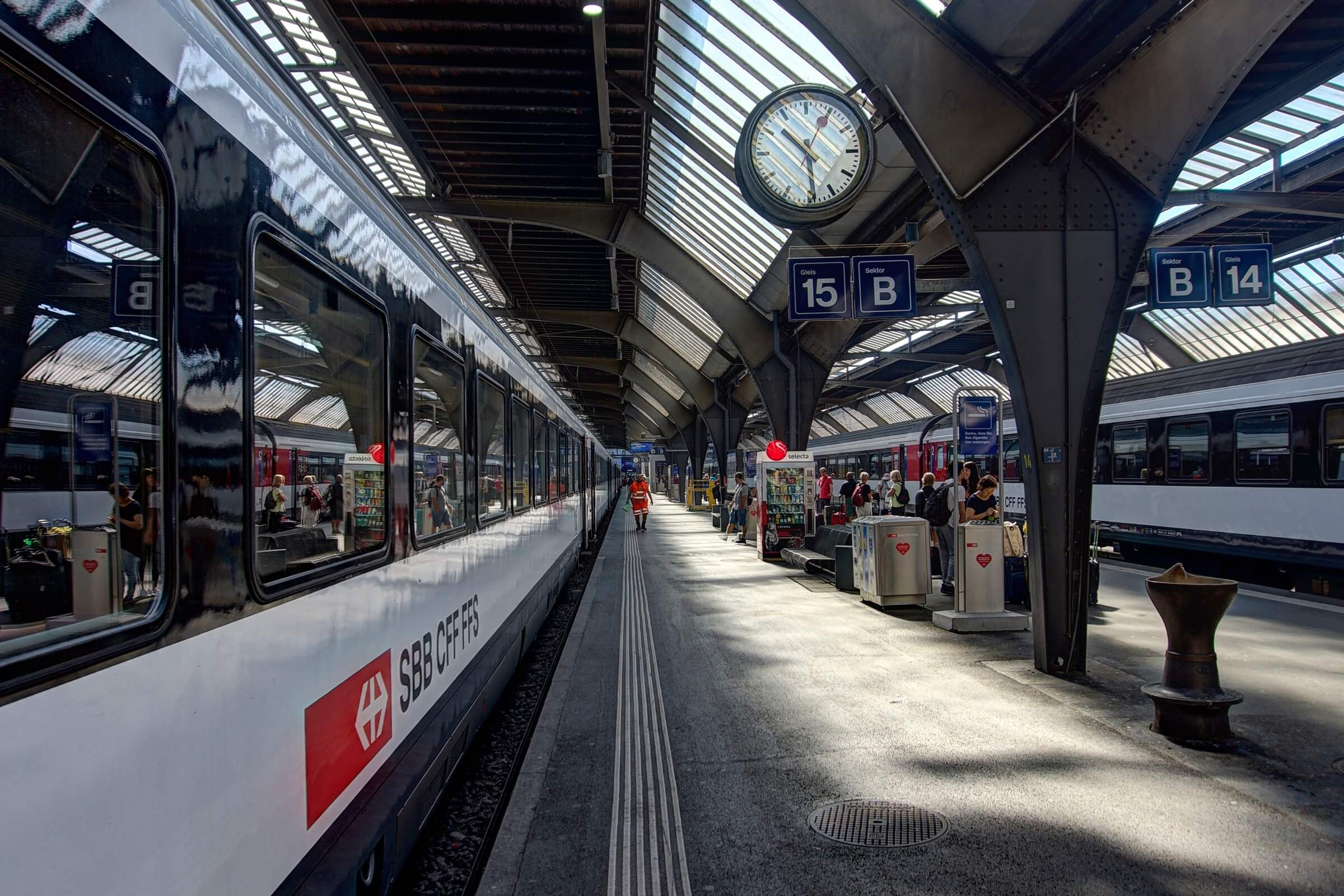 Public transport in Switzerland is punctual and efficient