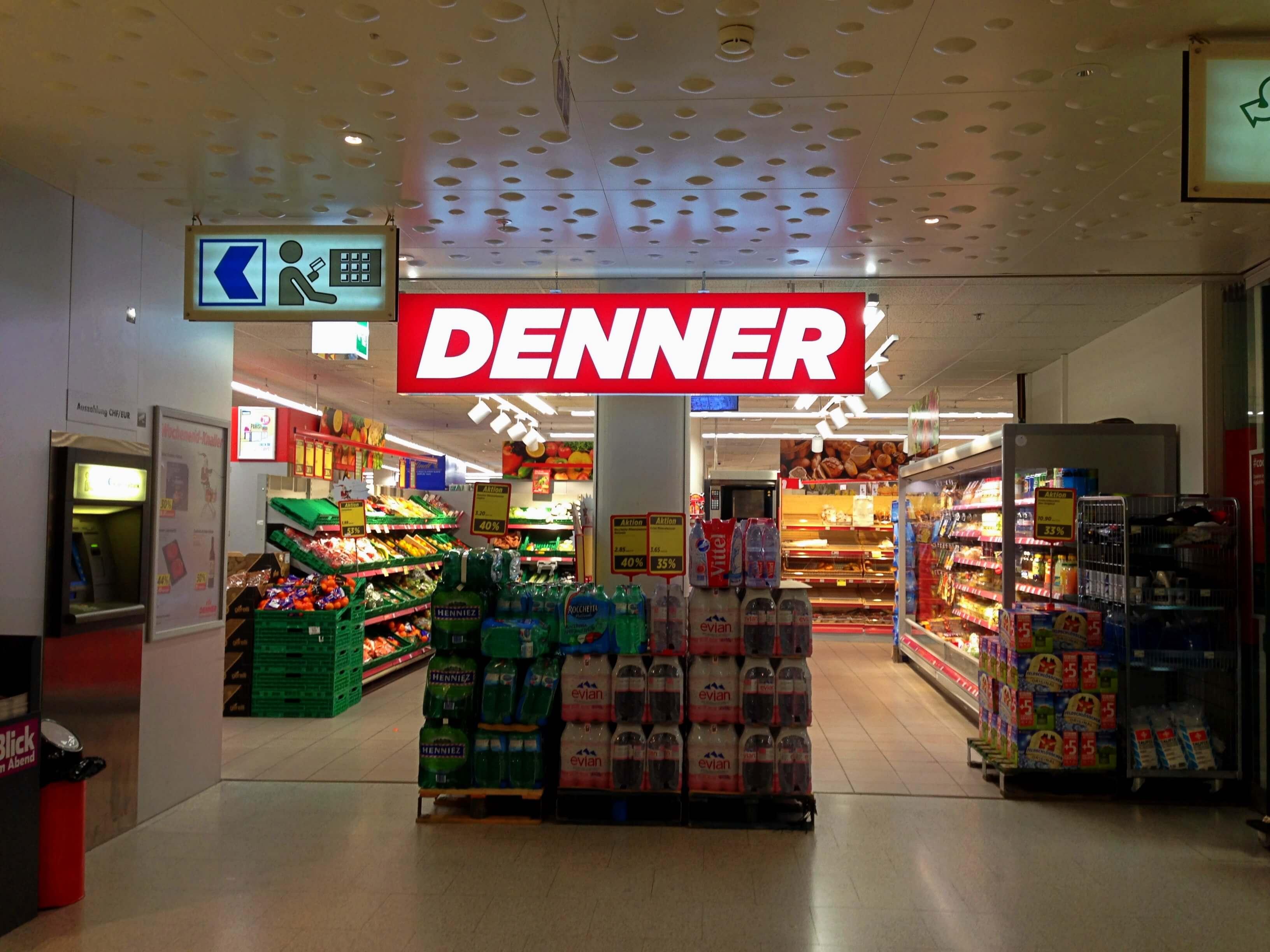 Denner discount supermarket