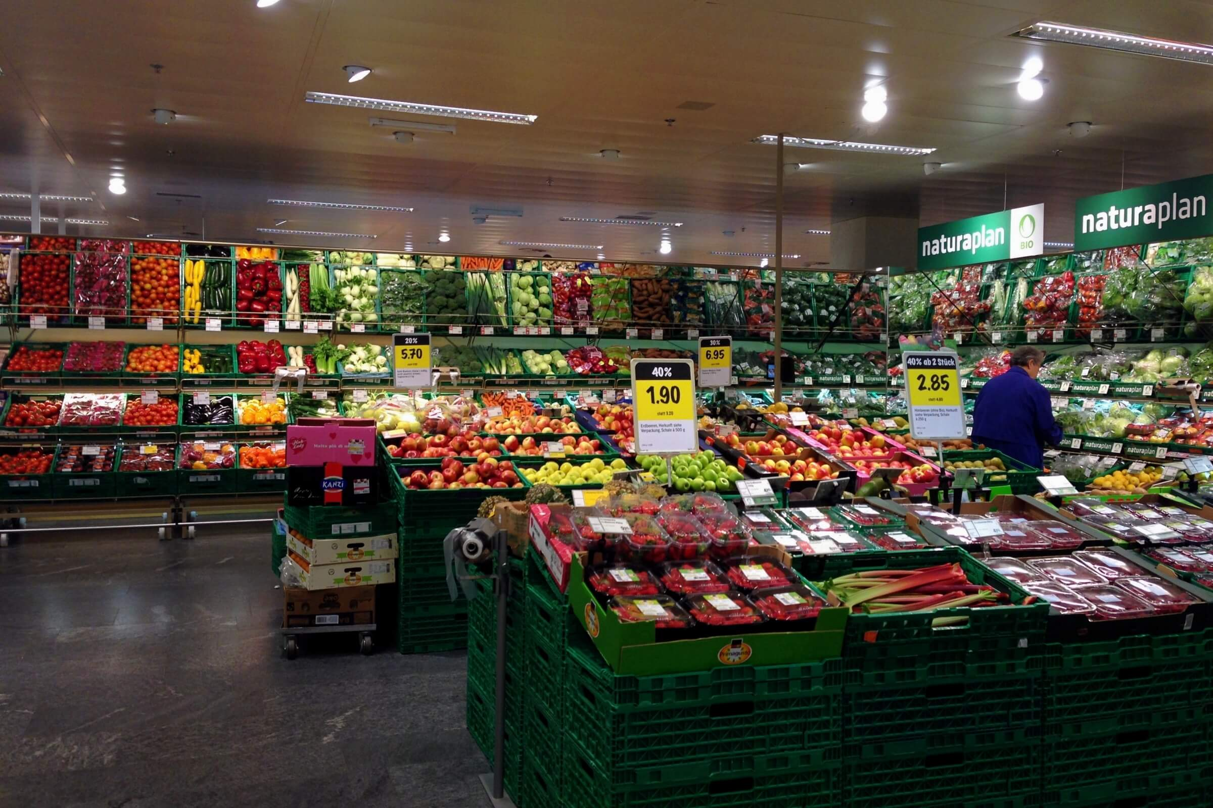 Supermarkets 101 – How to get your groceries in Switzerland